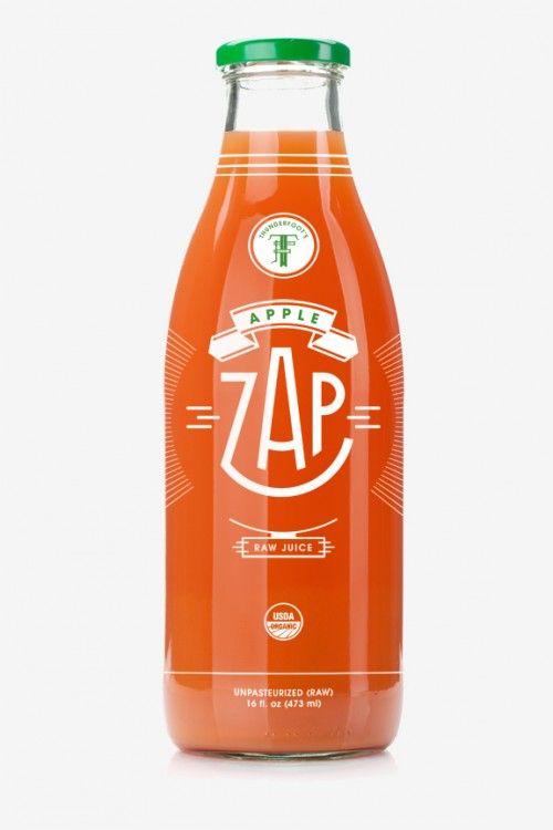 Jared Rippy • Thunderfoot's Apple Zap Organic Raw Juice