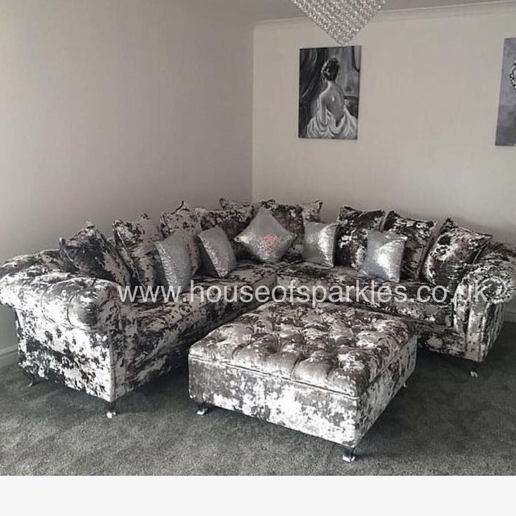 The Queen Collection Corner Sofa For information on our Beautiful Products You can visit us online at http://ift.tt/1Q0fktp or call the team in the office on 01189 121090 or email us direct to sales@houseofsparkles.co.uk