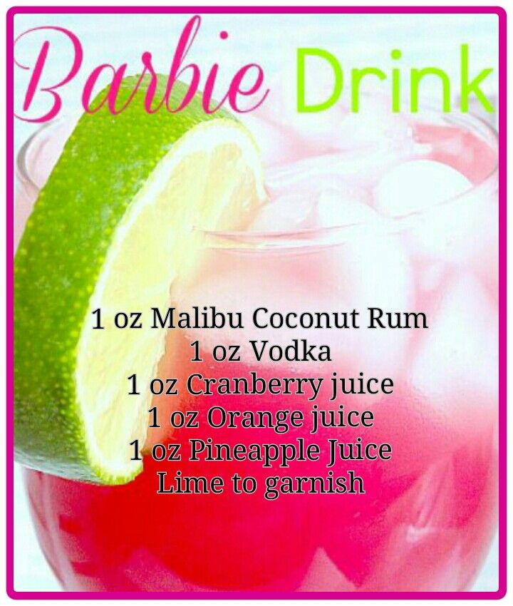This will be my first DRINK TO MAKE