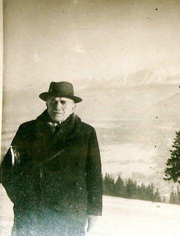 Janusz Szweycer w górach