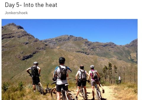Photo review of our singletrack trip - iRideAfrica
