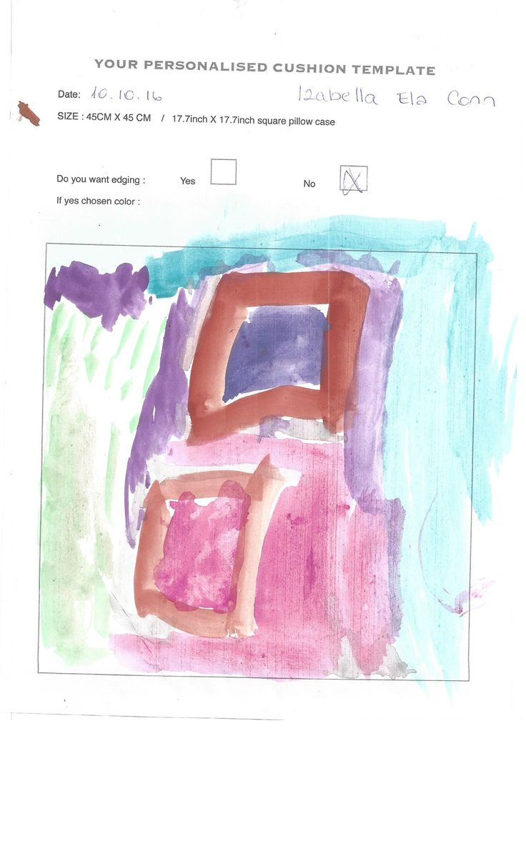 This is the template where little Izabella made her drawing. Fantastic Gift idea for Christmas don't you think so. Also perfect activity for Children.