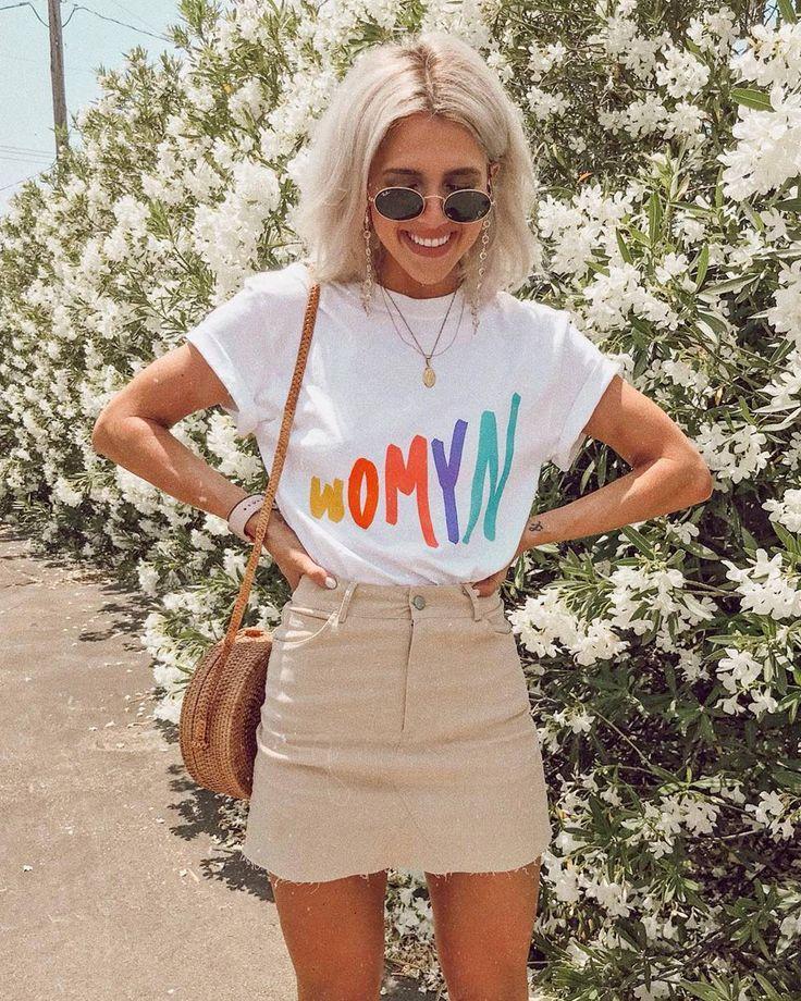 15 Sommer-Outfits, die voll und ganz machbar sind | Wer was anziehen  #anziehen … – Sophia Ackermann