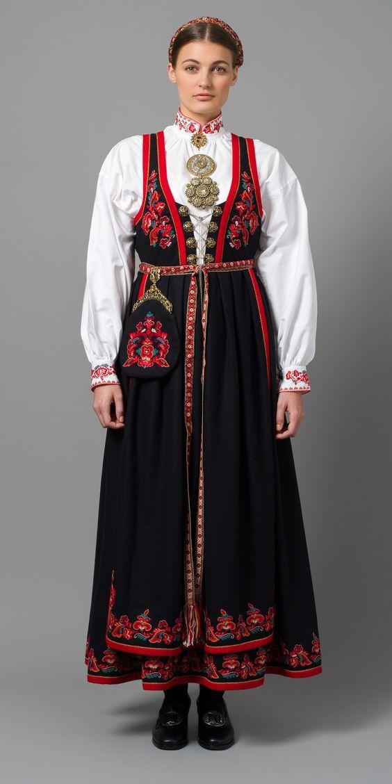 Norwegian Bunad from West Telemark
