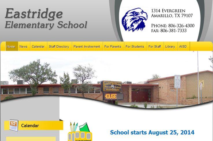 Houses For Sale Near Eastridge Elementary School, Amarillo TX             http://thepamelamadoregroup.com 806-340-7630  Eastridge Elementary School   1314