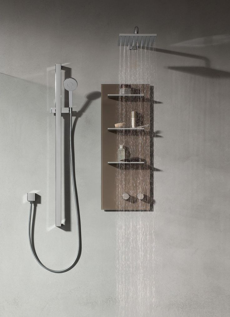 The perfect shower for a perfect bathroom.