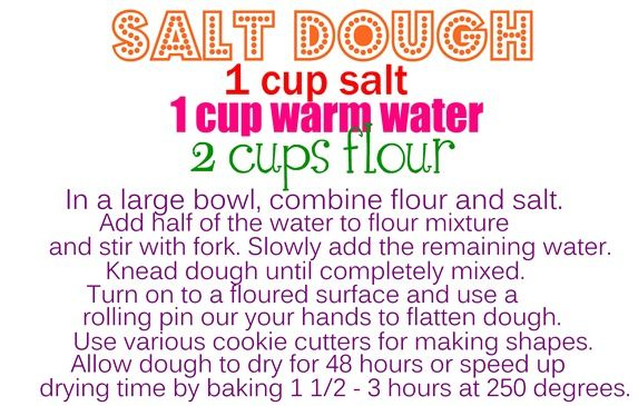 salt+dough+candy   Here is the recipe for the project: