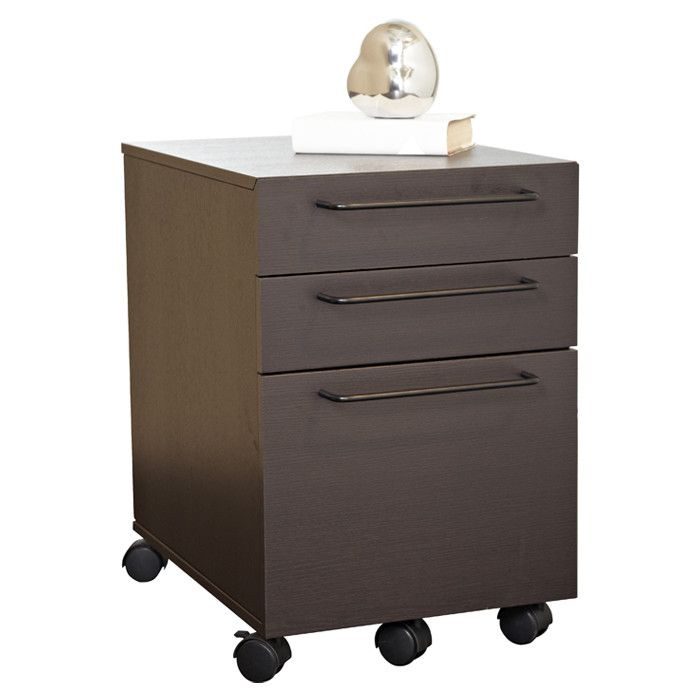 Unique Furniture 200 Collection Tribeca 3 Drawer File Cabinet & Reviews | Wayfair