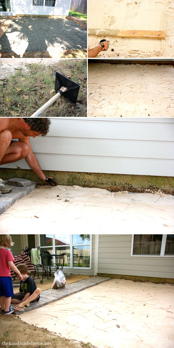 Backyard Bliss: Installing Patio Pavers And A Fire Pit {diy Patio} {diy