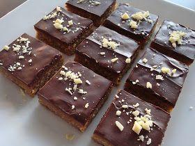 Den lyder spøjs, men lad dig ikke skræmme af det - den smager rigtig godt.Det er nok også nærmere konfekt end det er kage. Eller måske e...