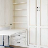 You've heard of a Murphy bed? How about a Murphy table for your office or craft room?