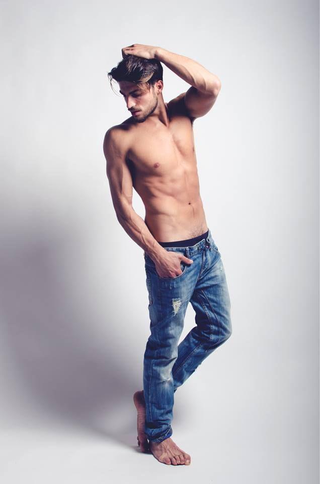 MARIANO DI VAIO / male models #Denim