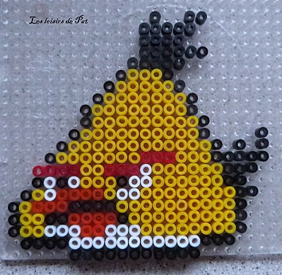 Angry birds hama beads by Les loisirs de Pat