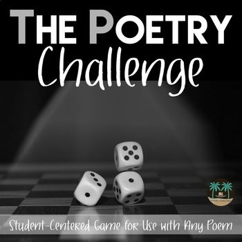 The Poetry Challenge - poetry game for any poem.