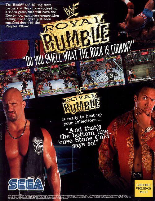 Sega WWF Royal Rumble 2000