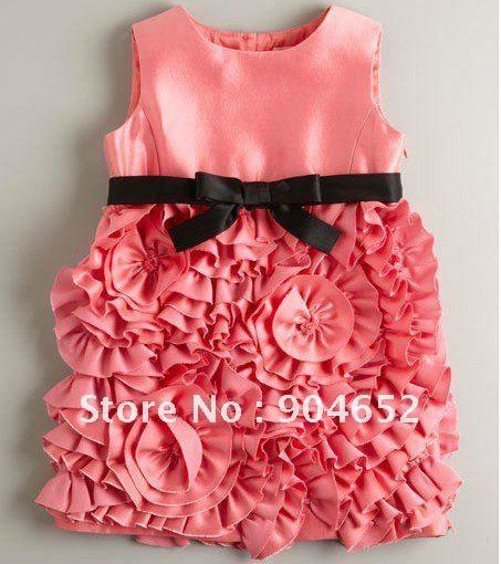 Designer Kids dresses pink