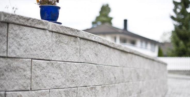 Knekt Støttemur Aaltvedt Stein eksklusiv geoloc ru mur topphelle