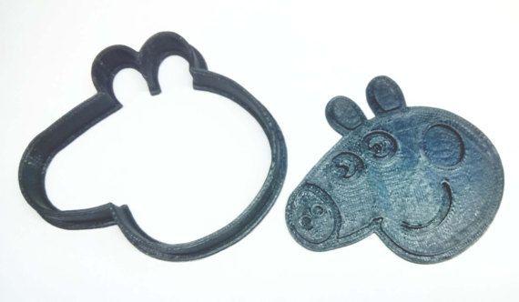 Peppa Pig Galletas Cookie Molde Mold Toy Jugetes Cutter Cookies