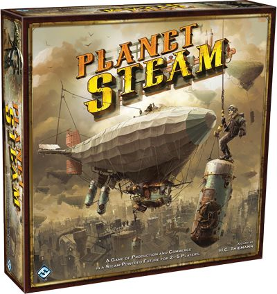 Fantasy Flight Games [Planet Steam - Description] - Leading publisher of board, card, and roleplaying games.