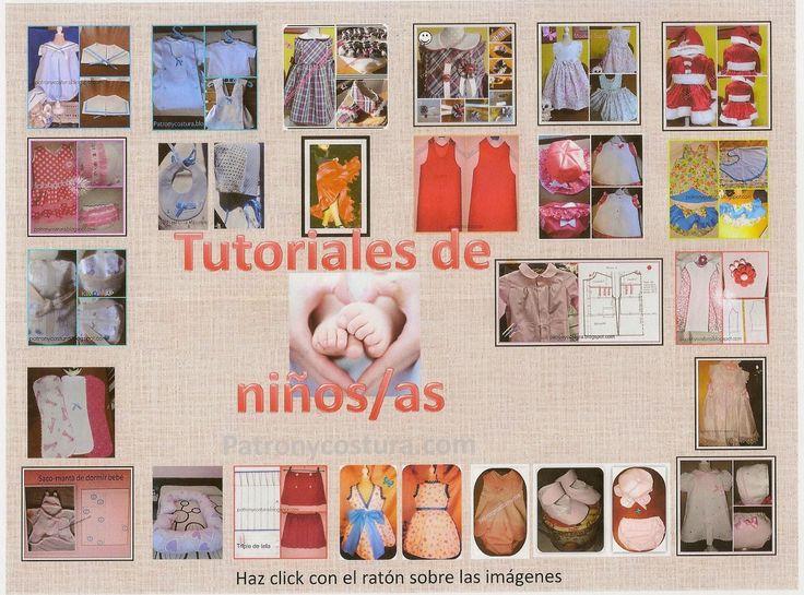 Patrón y costura : Ebook: Pasarela infantil- tema 96