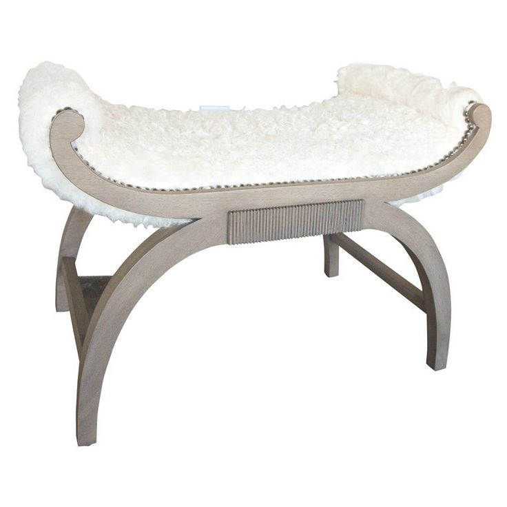 Paul Marra Neoclassical Bench. Upholstered StoolOttoman ...  sc 1 st  Pinterest & 171 best PRODUCT - Benches/ Stools images on Pinterest | Benches ... islam-shia.org