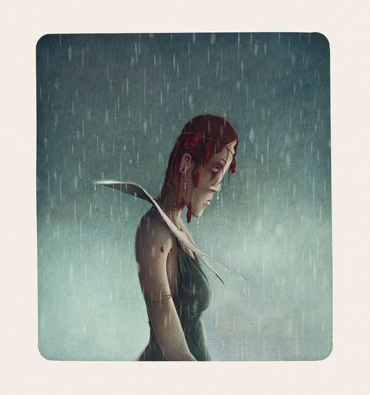 Rebecca Dautremer - Illustration - Une Bible - Jézabel