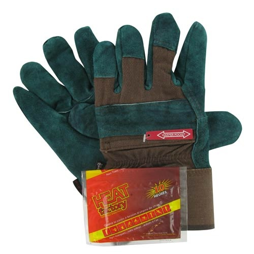 Heat Factory Heated Utility Gloves Pocket For Disposable