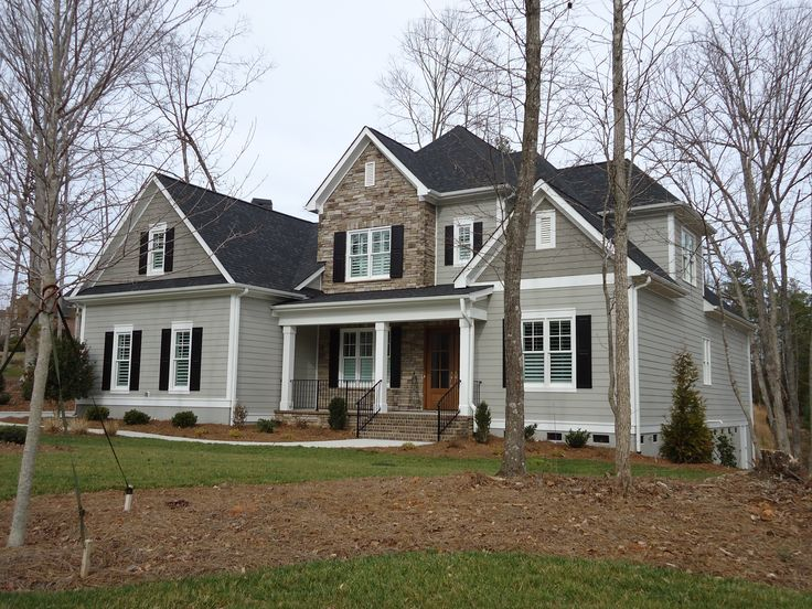 60 best images about exterior paint colors with black roof on pinterest pewter exterior - Images of exterior house paint colors model ...