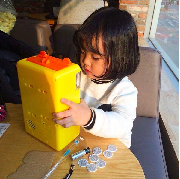 Cô nhóc Hàn Quốc đáng yêu tới nỗi xem ảnh mà chỉ muốn lao ngay vào... cắn má - Ảnh 14.