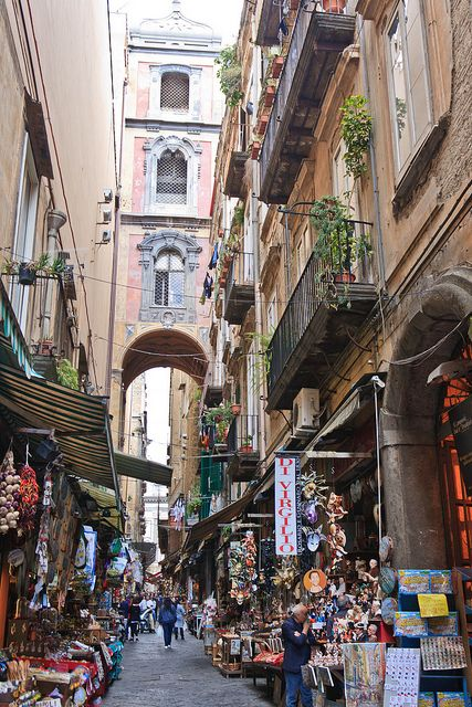 Naples, Italy. Must go back there.
