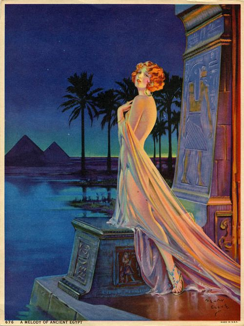 """A Melody of Ancient Egypt"" by Henry Clive"