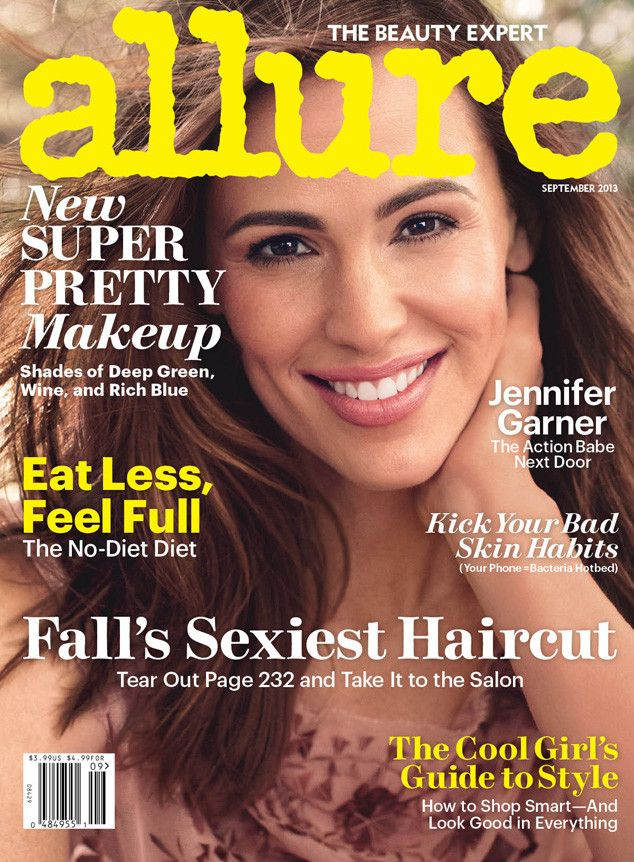 """Jennifer Garner, Allure from 2013 September Issues  The actress looks lovely on the September issue of Allure, gushing to the magazine about her husband Ben Affleck: """"[He's] much taller than you'd expect and more handsome than you'd think he could be."""""""