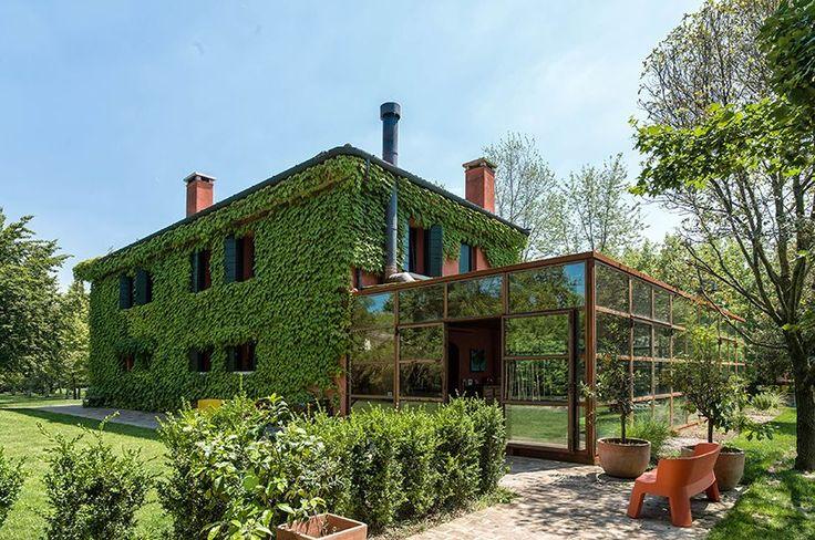 zanonarchitettiassociati renovates country house in treviso, italy