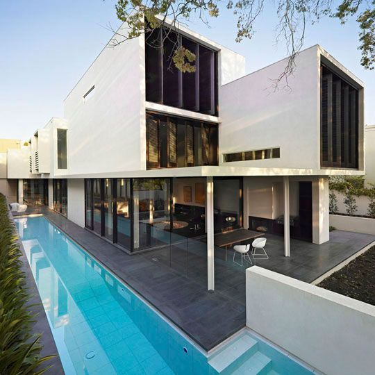 Modern And Glamour Sustainable Home Design – Verdant Avenue House by Robert Mills | DigsDigs