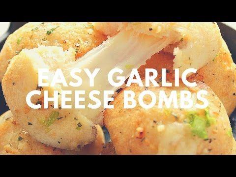 The Best Easy Cheesy Garlic Bread Recipe | Crunchy Creamy Sweet - YouTube