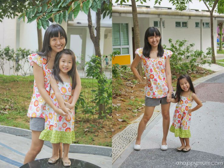 A Happy Mum | Singapore Parenting Blog:  Matching outfits for the family from Mama Shoppe