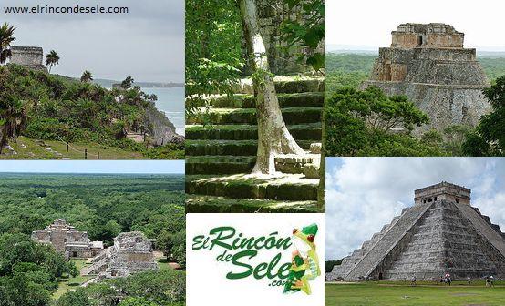 5 ciudades mayas que hay que ver sí o sí en el Yucatán de México. Chichen Itzá, Tulum, Ek Balam, Uxmal y Calakmul son las ruinas mayas que recomiendo ver