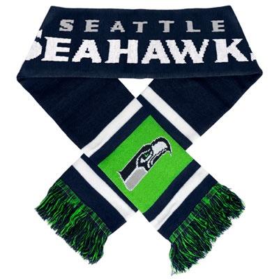 seahawks apparel | Seattle Seahawks Stripe Scarf