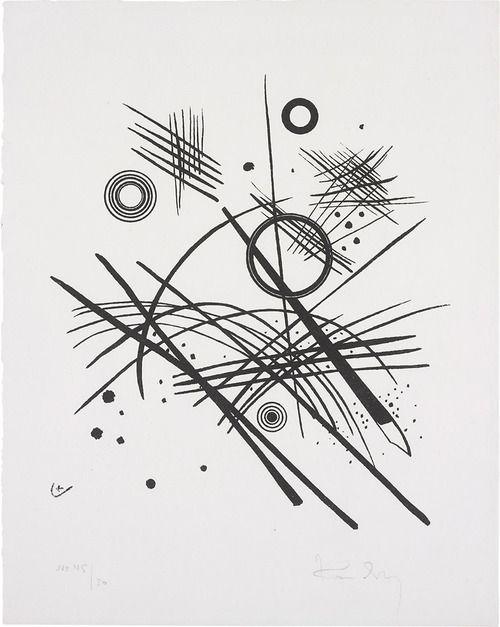Wassily Kandinsky - Black Lines (1924)