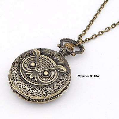 Volcom Bronze Big Owl Pendant Alloy Korean Necklaces Bronze. Small and catchy. REPIN if you like it.😍 Only 107 IDR