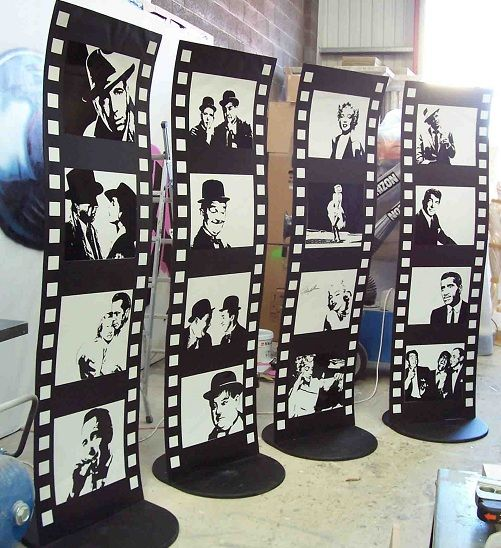 Film Strip Stands