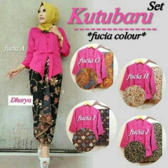 Kebaya Facia Colour @210000