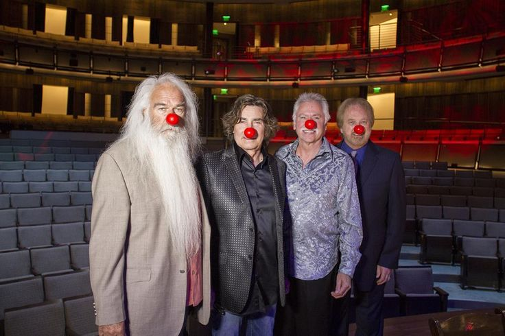 The Oak Ridge Boys on Red Nose Day 5/21/15 @ Country HOF :-) I love these guys!!!!