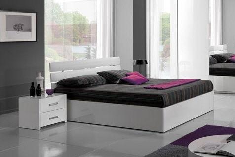 contemporary double bed MAX 0001 pensarecasa.it