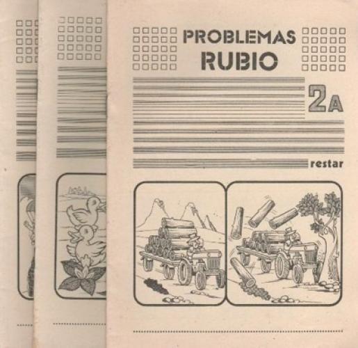 Portadas de antiguos Cuadernos Rubio