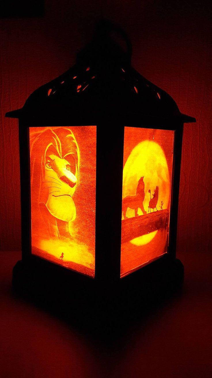 Disney Lion King Lantern by HenrysShopStore on Etsy https://www.etsy.com/listing/494458364/disney-lion-king-lantern