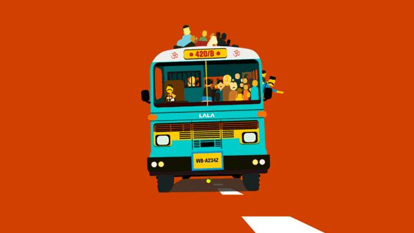 Indian Life-isshtyle in GIFs by Dippyaman Nath, via Behance
