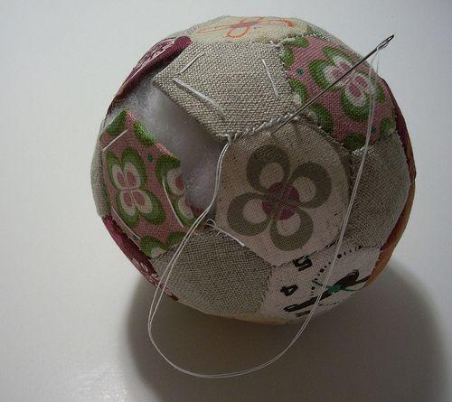 Hexagon ball tutorial.