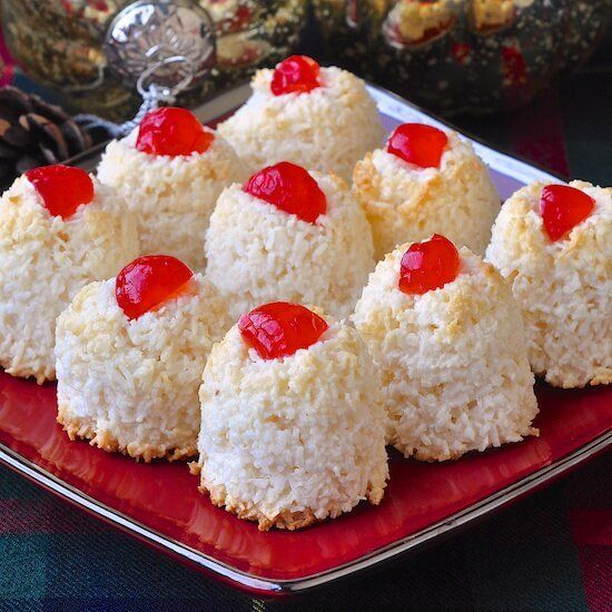 An updated quicker and easier version of this old fashioned haystack cookies recipe, using sweetened condensed milk to prepare this simple type of macaroon.