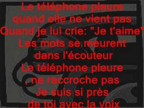 claude francois le telephone pleur (+playlist)
